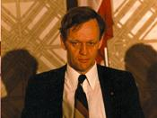 English: Jean Chrétien at a fundraising meeting for the Liberal Party at the Queen Elizabeth Hotel in Montréal, Québec.