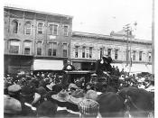 Carrie Nation in Ann Arbor, May 3, 1902 --- the mob cheers for a State Street hatchet job: but hey, who