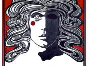 ''Poster for Godspell by David Byrd in the Cherry Lane Theatre''