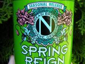 Ninkasi Spring Reign Ale  (Seasonal)