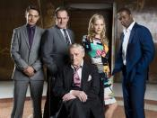 The main cast of Hustle (series 5-present)