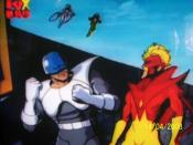 Pyro (right) in X-Men: The Animated Series along with Avalanche.