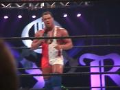 Kurt Angle at the WWF King of the Ring at the Fleet Center in Boston, MA in 2000 - WWE