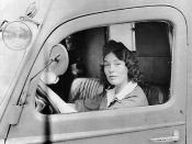 English: Jane Horney in 1940. Svenska: Jane Horney under beredskapen 1940.