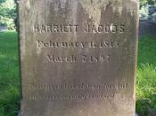 English: Grave of Harriet Jacobs at Mount Auburn Cemetery in Cambridge, Massachusetts.