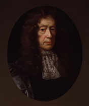 Edmund Waller, by John Riley (died 1691). See source website for additional information. This set of images was gathered by User:Dcoetzee from the National Portrait Gallery, London website using a special tool. All images in this batch have been confirmed