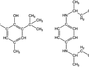 English: two popular antioxidants used in gasoline (petrol)