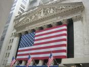 English: Wall Street, Manhattan, New York, USA Español: Wall Street, Manhattan, Nueva York, Estados Unidos