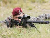 English: Slovenian sniper