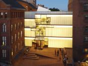 Higgins Hall center section rebuilt by Steven Holl