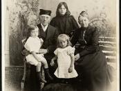 Jonas og Thomasine Lie med tre av sine barnebarn