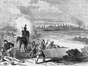 English: The Battle of Montgomery's Tavern in Toronto, Canada.