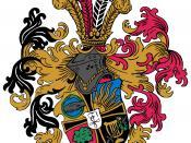 """Deutsch: Dies ist das Wappen der Urburschenschaft, welches 1815 entworfen wurde. Vgl. Wikipedia:Wappen: """"Bei Traditionswappen, die seit Jahrhunderten mehr oder minder unverändert geführt werden, scheidet ein Urheberrechtsschutz aus, da man davon ausg"""