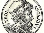 English: Ascanius was the son of Aeneas and Creusa.