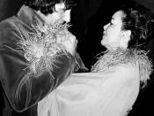 English: Wedding photograph of Judy Garland and Mickey Deans