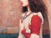 Juliet or The Blue Necklace (1898) by John William Waterhouse