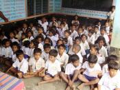 Elementary School in Chittoor,AP,India. This school is adopted by Aashritha under the 'Paathshaala' project. The school currently educates 70 students.