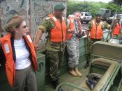 Huddleston makes first visit to Botswana - 20100413