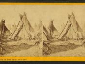 Tepees of the Sioux Indians, by Whitney's Gallery