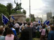 Act of the Mothers of Plaza de Mayo