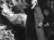 Patrick Henry in the Virginia legislature