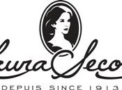 English: This is the revised Laura Secord Corporate Logo that is authorized to be used on the Laura Secord Chocolates Wikipedia page.