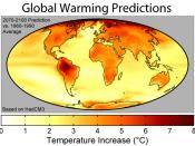 Scientific studies on climate helped establish a consensus.
