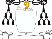 Abbot's or Prelates'/Provosts' coat of arms
