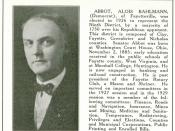 Alois Bahlmann Abbot (1885-1951)