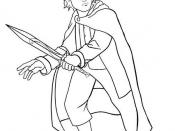 Frodo Baggins Drawing.