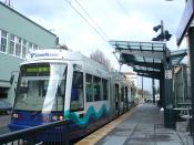 English: Tacoma beat Seattle once again by being the first city in Washington to get a modern streetcar system