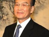 With Premier of the State Council of the People's Republic of China Wen Jiabao.