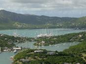 Nelson's Dockyard from Shirley Heights (2)
