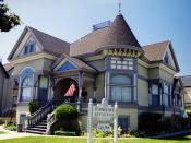 132 Central Avenue, Salinas, California, the home where Steinbeck lived in his childhood.