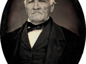 Last known photograph of Sam Houston. Sixth plate daguerreotype by an unknown dauguerreotypist (possibly by J.H. Stephen Stanley, of Houston, Texas, on or about 18 March 1863.)