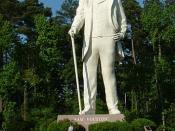 Statue of Sam Houston, Huntsville, Texas