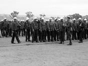 B73101 1st Australian Imperial Force in Camp.