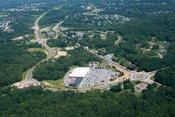 aerial photo of slingerlands bypass