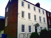 Arkwright House.1728.Preston,Lancashire.UK.