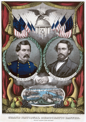United States Democratic presidential ticket, 1864.