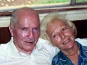 Robert A. Heinlein, with Ginny Heinlein Robert and Ginny Heinlein in Tahiti 1980