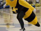 Buzz, the Georgia Tech Yellow Jackets' mascot