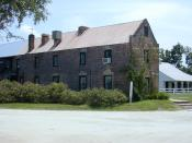 Cotton Gin house at Boone Hall Plantation