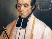 English: Official portrait of Marcellin Champagnat (1840), by M. Ravery