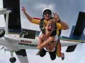 English: Tandem Skydive