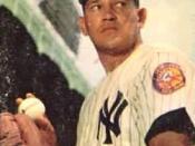 English: New York Yankees pitcher .