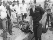 NHRA drag racer Tommy Ivo, Amarillo 1966