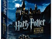 Harry Potter 2011 Blu Ray Years 1-8 Box Set Cover