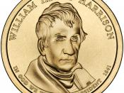 English: Presidential $1 Coin Program coin for William Henry Harrison. Obverse.