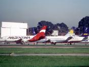 320ad - ARG - Linea Privada Argentina Boeing 737-204; LV-YXB@AEP;23.09.2004